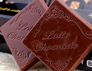 乐天纯可可脂黑巧克力