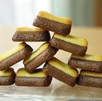 bake cookie烤制浓厚巧克力